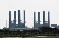 توقف عمل محطة كهرباء غزة لعدم دخول الوقود المصري