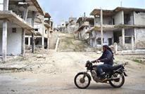 أسرة سورية من 5 أشخاص نزحت 9 مرات بواسطة دراجة نارية