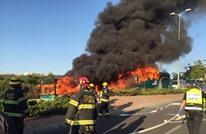 إصابة 21 إسرائيليا بانفجار حافلة بالقدس المحتلة (فيديو)