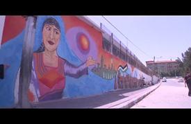 """جداريات في غزة لـ""""إحياء التراث الفلسطيني"""""""