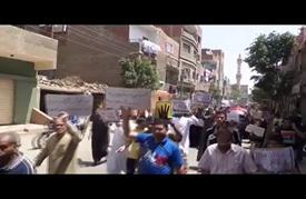 مسيرة مؤيدة للرئيس محمد مرسي بقرية كرداسة