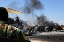 """مصرع 3 أشخاص بينهم نجل رئيس أركان جيش """"طبرق"""" بتحطم طائرة"""
