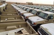 ذا ليبيا أوبزيرفر: وصول شحنات أسلحة ضخمة لحفتر