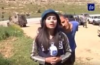 فلسطينية تلقن إسرائيليا درسا بعدما ضايقها على الهواء (شاهد)