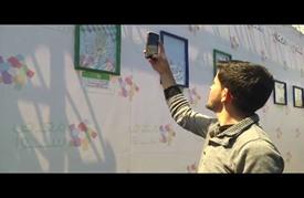"""معرض فني في غزة بمناسبة """"يوم الطفل الفلسطيني"""""""