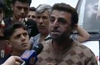 """صاحب مقولة """"أنا إنسان ماني حيوان"""" يخاطب الأسد (فيديو)"""