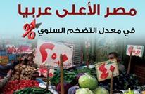 هذه أرقام ارتفاع معدلات التضخم عربيا.. مصر الأعلى (إنفوغراف)
