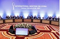 طهران تستضيف لقاء ثلاثيا لترتيب جولة أستانة جديدة حول سوريا