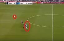 فيا سجل هدفا خرافيا نادرا ما يشاهد مثله عشاق الكرة (فيديو)