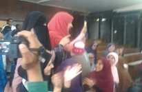 أول حفل خطوبة من نوعه بمصر.. العريس خلف القضبان (فيديو)