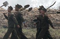 """جنود كوريا الشمالية يلعبون """"الطائرة"""" بموقع نووي.. لماذا؟"""