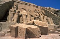 مصر تزيح الستار عن تمثال رمسيس الثاني بعد تجميعه وترميمه