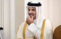 ماذا فعل أمير قطر لحظة عزف سلام البحرين بالدوحة؟ (فيديو)