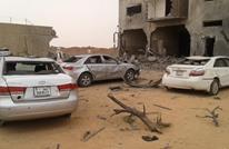 طائرة تابعة لحفتر تقصف سجنا جنائيا جنوب ليبيا
