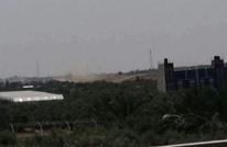 قصف إسرائيلي على موقع للمقاومة وسط غزة (فيديو)