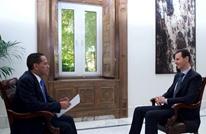 """الأسد بمقابلة جديدة يتحدث عن نهاية الحرب و""""التسامح"""" (شاهد)"""