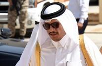 """وزير خارجية قطر يلتقي تيلرسون ويتحدث عن """"أستانة"""" والأسد"""