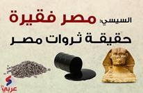 السيسي: مصر فقيرة.. تعرف على حقيقة ثروات مصر (إنفوغرافيك)