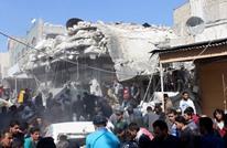 12 قتيلا بينهم مرضى بقصف على مستشفى في إدلب