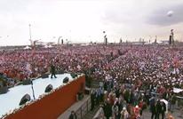 """أكثر من مليون تركي باسطنبول قالوا """"نعم"""" للتعديلات (صور)"""