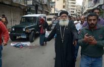 لحظة تفجير الكنيسة المرقسية بالاسكندرية ومقتل الحرس (شاهد)