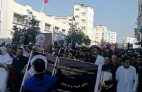 """مغاربة يحتجون ضد """"التهميش"""" في """"مسيرة الأكفان"""" (فيديو)"""