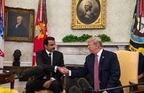 ترامب في استقبال أمير قطر: علاقاتنا بأفضل حال