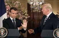 ماكرون يرفض الانسحاب من الاتفاق النووي مع إيران