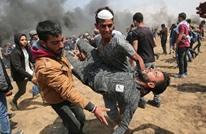 """ثلاثة شهداء ومئات الإصابات بجمعة """"الشباب الثائر"""" بغزة (شاهد)"""