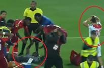 حكم يبكي بعد إصابة مروعة لحارس مرمى بأبطال أفريقيا (فيديو)