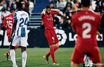 ريال مدريد يتعثر أمام ليغانيس ويفشل في تضييق الخناق على جاره