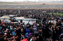 غزة.. إصابات بمسيرة العودة المنددة بالاستيطان في الخليل