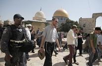 وزير إسرائيلي يقتحم الأقصى والاحتلال يطرد المعتكفين منه
