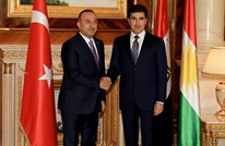 تشاووش أوغلو يلتقي رئيس حكومة إقليم شمال العراق