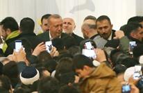 تركيات يصدحن بدعاء باللغة العربية أمام أردوغان (شاهد)