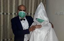 """أفراح غزة بـ""""كورونا"""".. لمة عائلية وزفاف مختصر (شاهد)"""