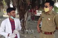التنكر بملابس الأطباء حيلة لكسر حظر التجوال بالهند