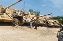 تقدم للوفاق غربي طرابلس وسيطرة على أسلحة مصرية وإماراتية