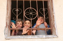 مهرجون يدخلون الفرح على أطفال غزة رغم كورونا (شاهد)