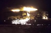 الوفاق تعرض مشاهد جوية لقصف إمدادات لحفتر (فيديو)