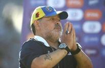 أسطورة الأرجنتين مارادونا يعرض تخفيض راتبه لمساعدة ناديه