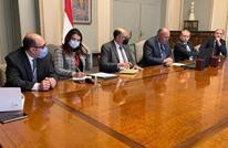 مباحثات مصرية مغربية تناولت الملف الفلسطيني والأزمة الليبية