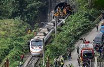 عشرات القتلى في خروج قطار ركاب عن السكة في تايوان