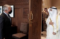 الحجرف يلتقي الملك عبد الله ويؤكد على دعم الخليج للأردن
