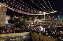 """""""عربي21"""" ترصد الأجواء في ساحة باب العامود بالقدس (شاهد)"""