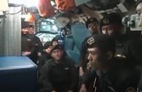 """لقطات لطاقم الغواصة الإندويسية الغارقة يؤدي """"أغنية الوداع"""""""