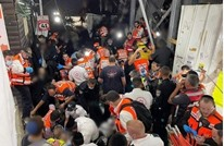 44 قتيلا على الأقل بانهيار جسر بمستوطنين في الجليل (شاهد)