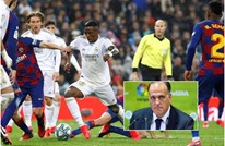 """رئيس """"الليغا"""" يتوقع نتيجة الكلاسيكو بين برشلونة وريال مدريد"""