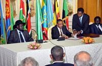 حكومة وحدة وطنية بجنوب السودان.. مشار نائبا لسلفاكير