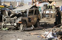 مقتل 4 من أفراد الشرطة بينهم ضابط بتفجير انتحاري ببغداد